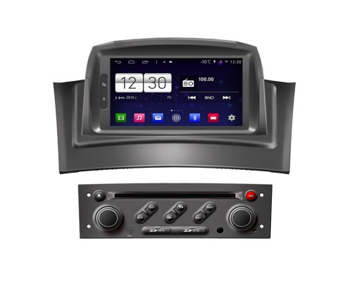 Штатная магнитола FarCar s160 для Renault Megane 2 на Android (m098)