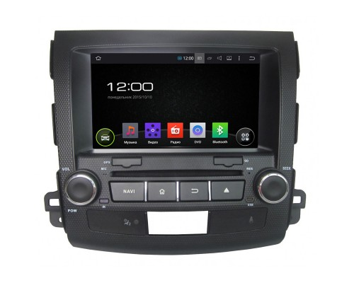 Штатная магнитола FarCar s130 для Mitsubishi Outlander XL,Citroen C-Crosser(2007-2012), Peugeot 4007 (2007-) на Android (R056)