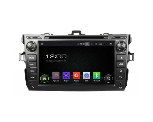 Штатная магнитола FarCar s130 для Toyota Corolla 2007-2012 на Android (R063)