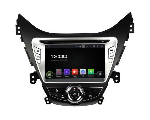 Штатная магнитола FarCar s130 для Hyundai Elantra 2011-2013 на Android (R092)