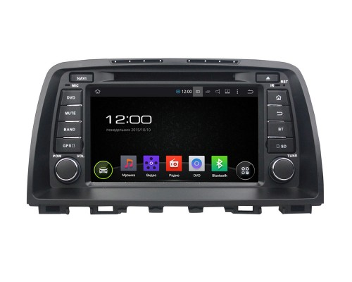 Штатная магнитола FarCar s130 для Mazda CX-5 на Android (R212)