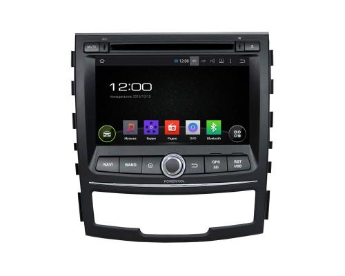 Штатная магнитола FarCar s130 для Ssang Yong Korando 2010-2013 на Android (R159)
