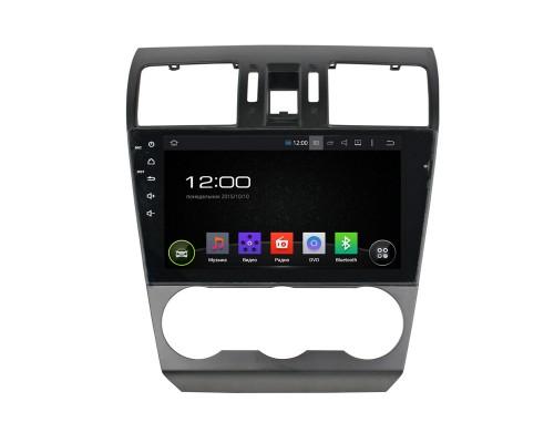 Штатная магнитола FarCar s130 для Subaru Forester,XV 2013-2015 на Android (R901)