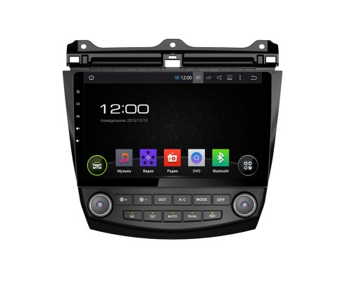 Штатная магнитола FarCar s130 для Honda Accord 7 (2008-2012) на Android (R809)