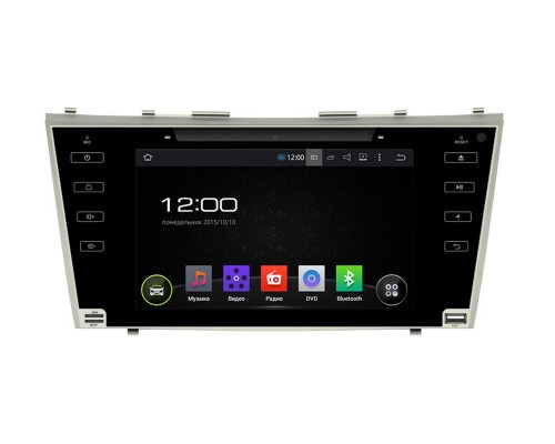 Штатная магнитола FarCar s130 для Toyota Camry на Android (R064BS)