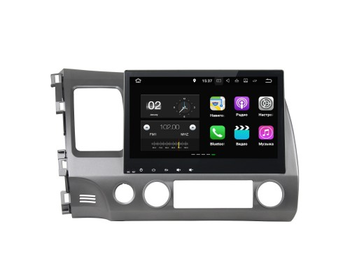 Штатная магнитола FarCar s130 для Honda Civic 2006-2011 на Android (W044)
