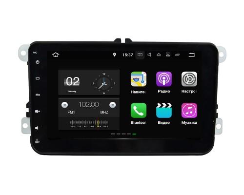 Универсальная штатная магнитола FarCar s130+ для VW/Skoda на Android (W904)