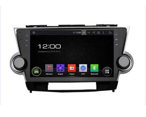 Штатная магнитола FarCar s130 для Toyota Highlander 2007-2013 на Android (R035)